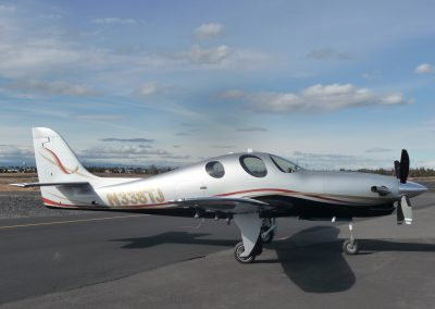 Lancair Evolution N338TJ