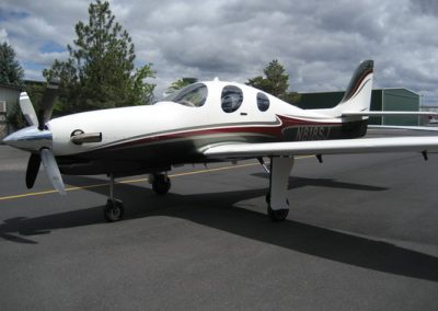 lancair-evolution-n818sj-ramp